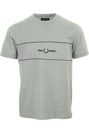 Fred Perry Camiseta Embroidered Panel T-Shirt para hombre