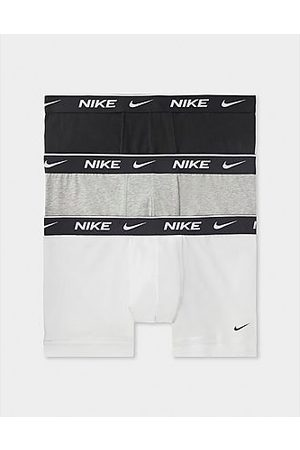 Nike Hombre Calzoncillos y Boxers - 3-Pack Trunks, White/Grey/Black