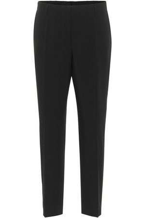 DRIES VAN NOTEN Pantalones ajustados de lana