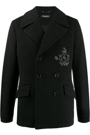 Dolce & Gabbana Abrigo con logo bordado
