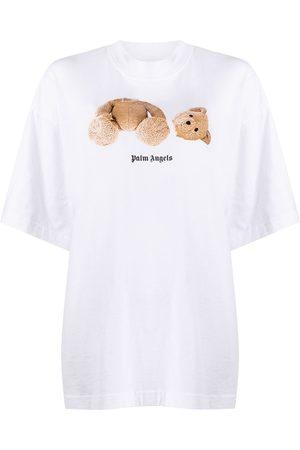 Palm Angels Camiseta con estampado de osito
