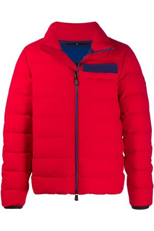 Moncler Contrasting tape down jacket