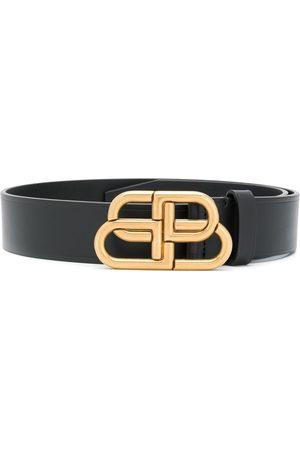 Balenciaga Cinturón con hebilla con logo BB