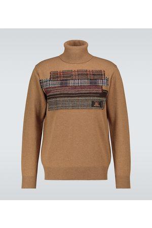 JUNYA WATANABE Jersey de lana de cuello alto