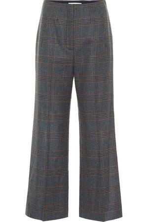 VERONICA BEARD Pantalones rectos Dova de lana