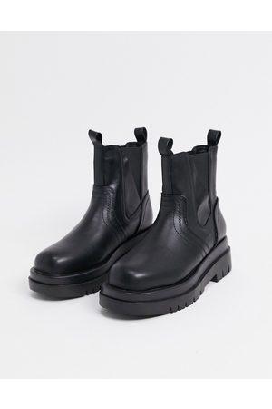 Raid Botas moteras de suela gruesa negras Brazen de -Negro