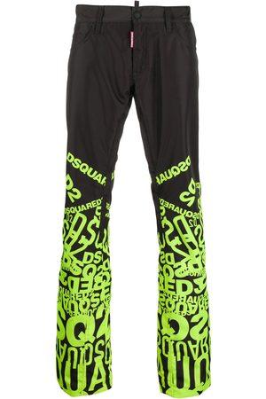 Dsquared2 Logo-print wide-leg trousers