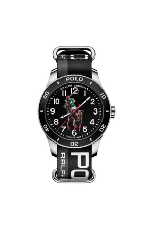 Polo Ralph Lauren Hombre Relojes - Reloj y acero con Polo Player