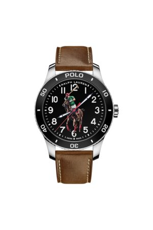 Polo Ralph Lauren Reloj y acero con Polo Player