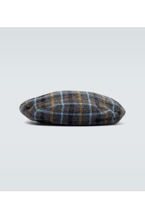 UNDERCOVER Boina de lana a cuadros