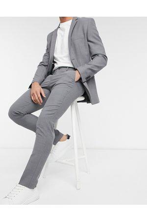 Jack & Jones Pantalón de traje claro de corte slim de Premium