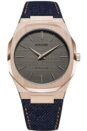 D1 MILANO Reloj Western Denim Ultra Thin de 40mm