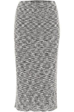 Joseph Falda midi de lana elastizada