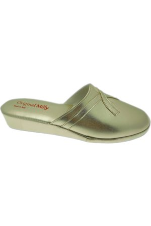 Florance Mujer Zuecos - Zuecos MILLY2200oro para mujer