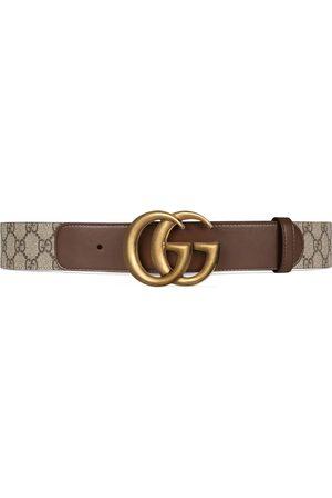 Gucci Cinturón GG con hebilla Doble G