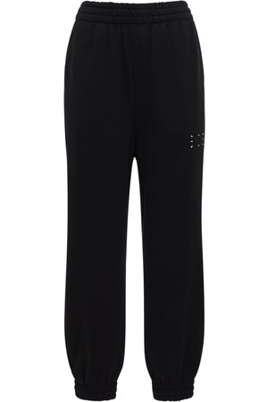 McQ | Mujer Pantalones Deportivos De Algodón Con Logo Xxs