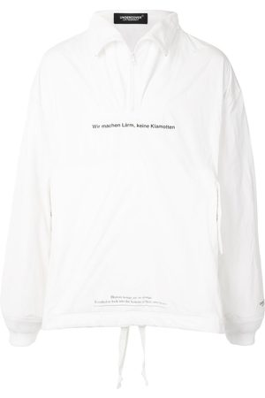 UNDERCOVER Chaqueta estilo jersey con media cremallera