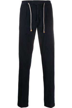 ELEVENTY Pantalones rectos con cordones