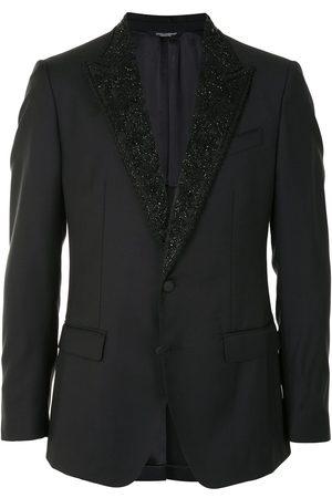 Dolce & Gabbana Chaqueta con solapa con apliques