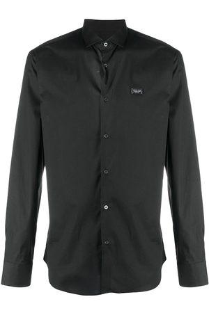 Philipp Plein Camisa con botones y manga larga