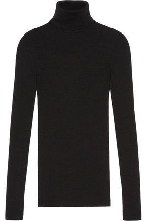 Gucci Jersey de canalé con logo GG
