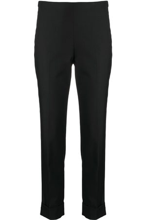 PESERICO SIGN Mid-rise tailored trousers