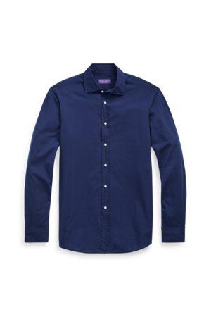 Ralph Lauren Hombre Casual - Camisa de cambray índigo lavada