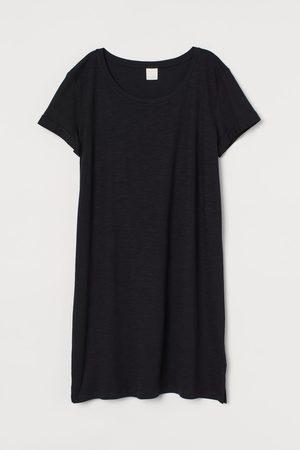 H&M Mujer De punto - Vestido camiseta de punto