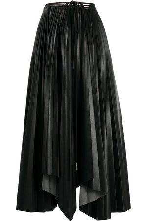 Nanushka Sunray Pleat midi skirt