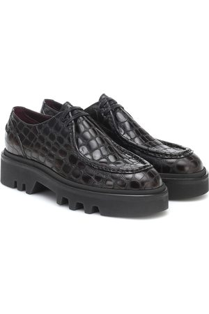 DRIES VAN NOTEN Zapatos Derby de piel acordonados