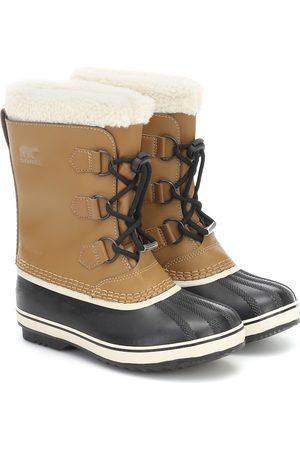 sorel Botas de nieve Yoot Pac de piel