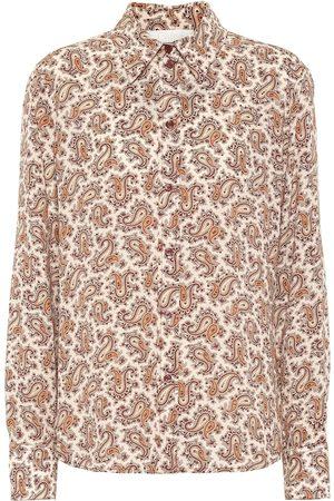 Chloé Camisa de crepé de seda de china