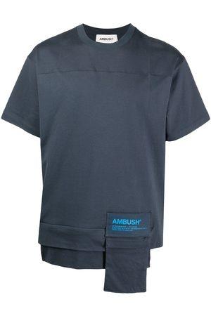 AMBUSH Camiseta con bolsillo de parche