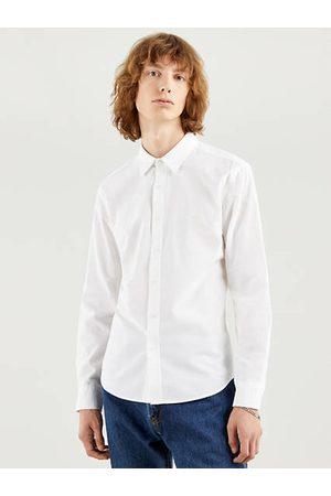 Levi's Hombre Camisas - Battery Housemark Slim Neutral / White