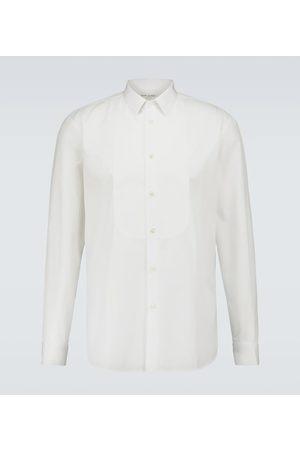 Saint Laurent Camisa formal de algodón
