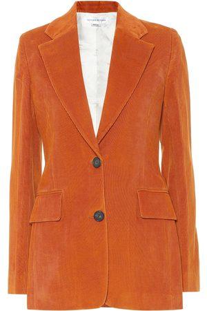 Victoria Beckham Blazer de pana de algodón