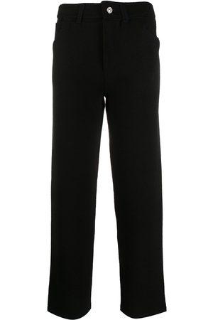 Barrie Pantalones de punto de talle alto