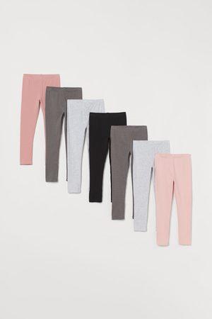 H&M Pack de 7 leggings de punto