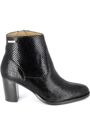 LES PETITES BOMBES Botines Boots Ambrine Noir Phython para mujer