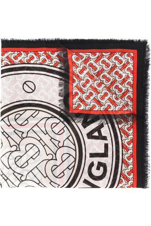 Burberry Pañuelo con monograma estampado