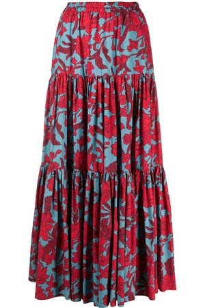La DoubleJ Falda con estampado floral