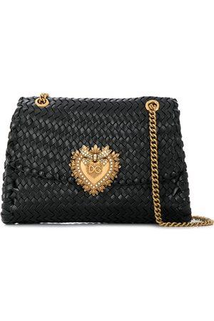 Dolce & Gabbana Bolso de hombro con placa del logo