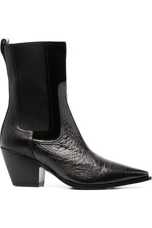 Premiata Botas estilo calcetín con puntera en punta