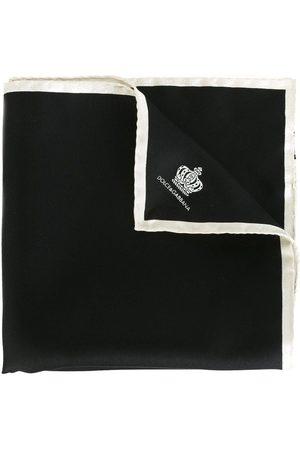 Dolce & Gabbana Pañuelo de bolsillo con estampado de coronas