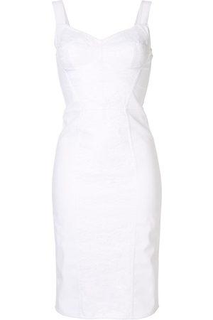 Dolce & Gabbana Vestido con diseño de corsé