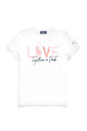 Ralph Lauren Camiseta Pink Pony de algodón