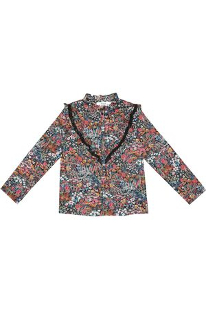 BONPOINT Blusa Pamela de algodón floral