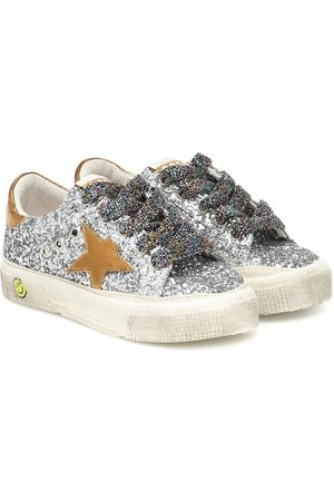 Golden Goose Zapatillas May con glitter