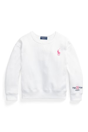 Ralph Lauren Sudadera de felpa Pink Pony