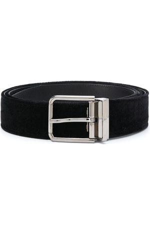 Dolce & Gabbana Cinturón de terciopelo